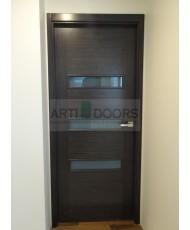 Фото установленной Дверь Матадор Диана венге ДО
