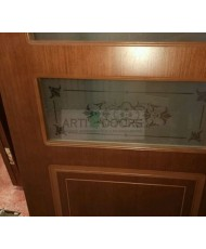 Фото установленной Дверь Матадор Веста венге ДО