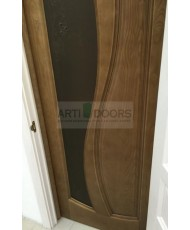 Фото установленной Дверь Океан Марсель Ясень Винтаж стекло Ретро