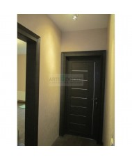 Фото установленной Дверь Профиль Дорс 41X Венге мелинга