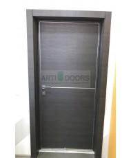 Фото установленной Двери Профиль Дорс 53U Черный матовый