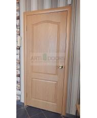 Фото установленной Двери Верда Венеция 06 Капучино Стекло Сатинато Люкс