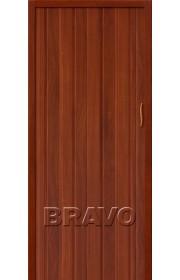 Раздвижная пластиковая дверь Браво-008, ИталОрех