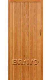 Раздвижная пластиковая дверь Браво-008, МиланОрех