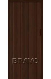 Раздвижная пластиковая дверь Браво-008, Венге