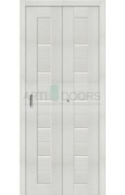 Двери складные Порта-22, Bianco Veralinga