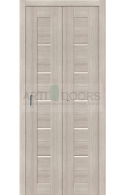 Двери складные Порта-22, Cappuccino Veralinga