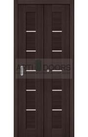 Двери складные Порта-22, Wenge Veralinga