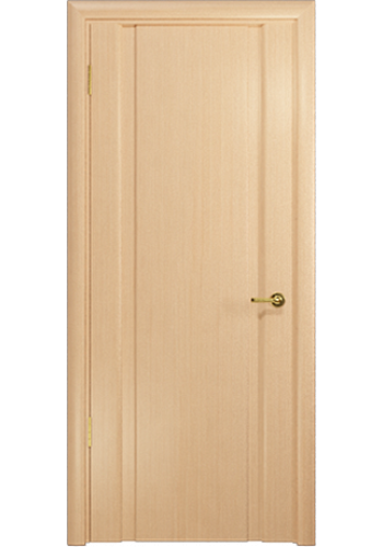 Дверь Арт Деко Спациа 2 беленый дуб ДГ