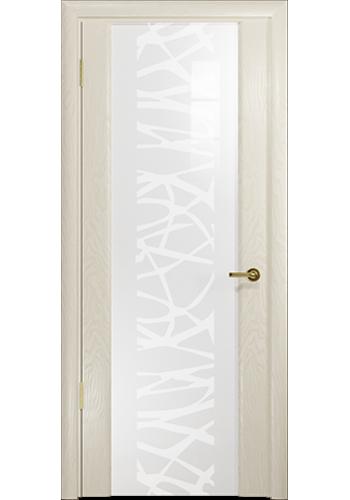 Дверь Арт Деко Спациа 3 Аква рисунок Чиза