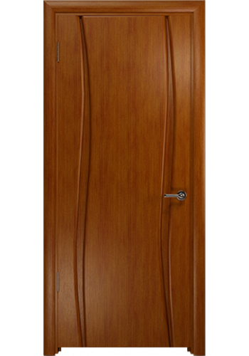 Дверь Арт Деко Вэла 2 темный анегри ДГ