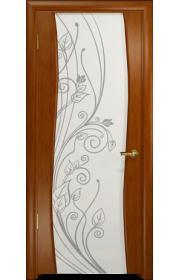Дверь Арт Деко Вэла темный анегри ДО стразы