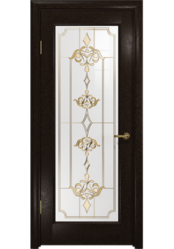 Дверь Арт Деко Ченере 4 Фуокко стекло Нуво