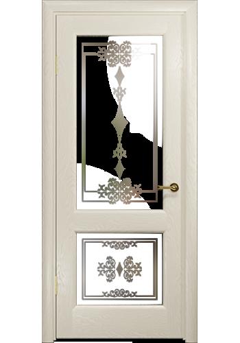 Дверь Арт Деко Ченере 2 Аква стекло Лаго