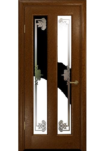 Дверь Арт Деко Ченере 3 Терра стекло Лаго