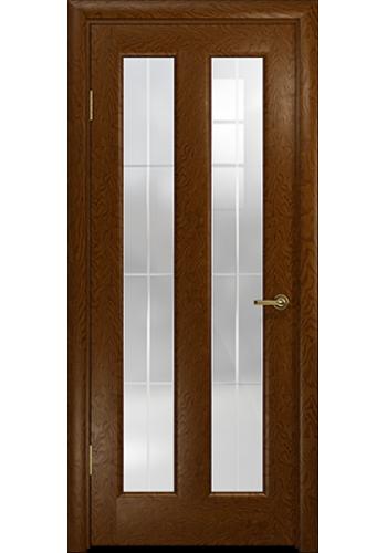 Дверь Арт Деко Ченере 3 Терра стекло Венто