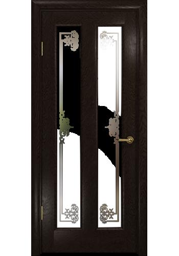 Дверь Арт Деко Ченере 3 Фуокко стекло Лаго