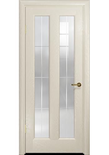 Дверь Арт Деко Ченере 3 Аква стекло Венто