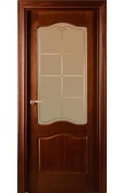Дверь Валдо Санта-Мария 737 Красное дерево тонированное ДО