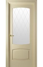 Дверь Валдо 844 Слоновая кость патина ДО