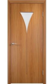 Двери Верда С-04 Миланский орех Матовое стекло