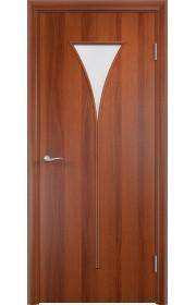 Двери Верда С-04 Итальянский орех Матовое стекло