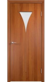 Двери Верда С-04 Груша Стекло Сатинато