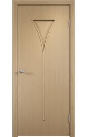 Двери Верда С-04 Беленый дуб ДГ