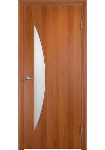 Двери Верда С-06 Груша Стекло Сатинато