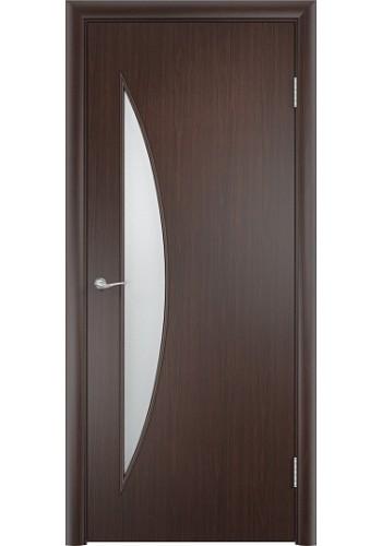 Двери Верда С-06 Венге Стекло Сатинато