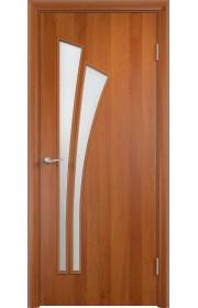Двери Верда С-07 Груша Стекло Сатинато