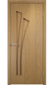 Двери Верда С-07 Светлый дуб ДГ