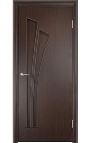 Двери Верда С-07 Венге ДГ