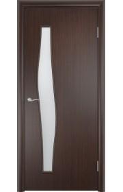 Двери Верда С-10 Венге Стекло Сатинато