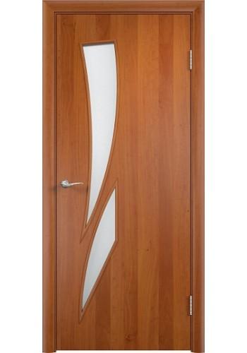 Двери Верда С-02 Груша Стекло Сатинато