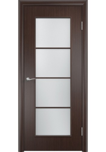 Двери Верда С-08 Венге Стекло Сатинато