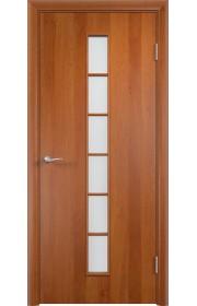 Двери Верда С-12 Груша Стекло Сатинато