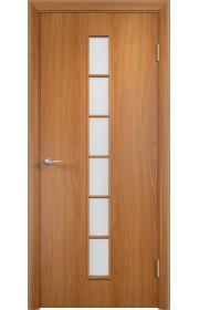 Двери Верда С-12 Миланский орех Стекло Сатинато