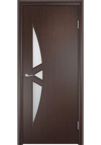 Двери Верда С-01 Венге Стекло Сатинато