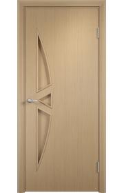 Двери Верда С-01 Беленый дуб ДГ