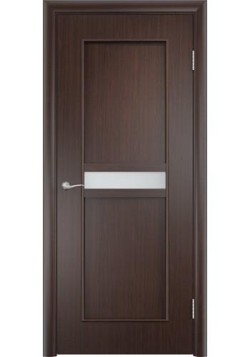 Двери Верда С-03 Венге Стекло Сатинато