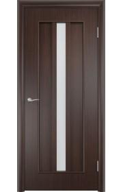 Двери Верда С-03-2 Венге Стекло Сатинато