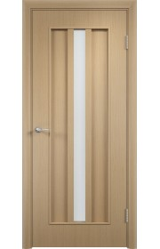 Двери Верда С-03-2 Беленый дуб Стекло Сатинато