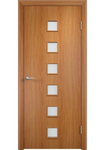 Двери Верда С-09 Миланский орех Стекло Сатинато