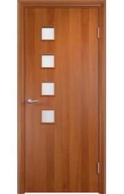 Двери Верда С-13 Груша Стекло Сатинато