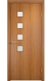 Двери Верда С-13 Миланский орех Стекло Сатинато