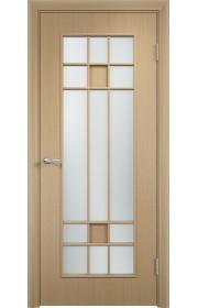 Двери Верда С-15 Беленый дуб Стекло Сатинато