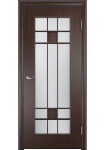 Двери Верда С-15 Венге Стекло Сатинато