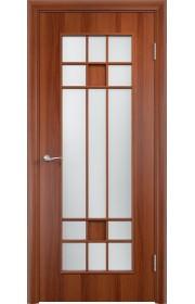 Двери Верда С-15 Итальянский орех Стекло Сатинато