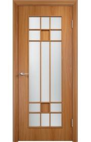 Двери Верда С-15 Миланский орех Стекло Сатинато